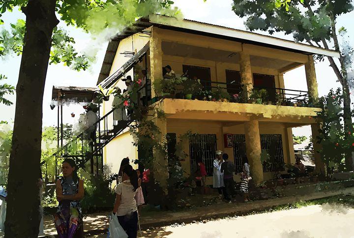 """ The School House "" - ( Joe Digital & Co ) art.likesyou.org"