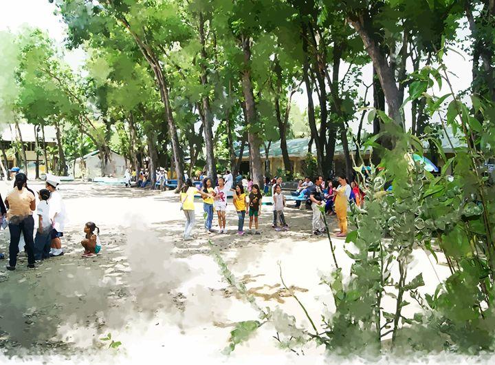 """ The Playground "" - ( Joe Digital & Co ) art.likesyou.org"