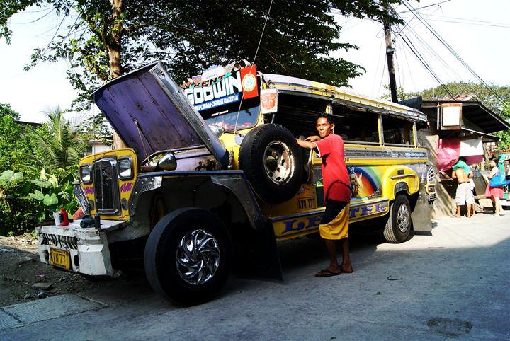 """"""" the Jeepney """" - ( Joe Digital & Co ) art.likesyou.org"""