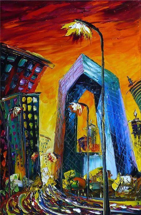 cityscape - huartgallery