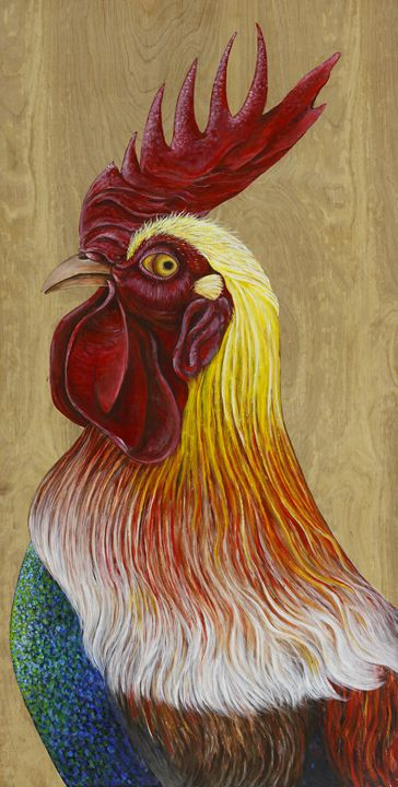 Rooster - Skee Goedhart Fine Art