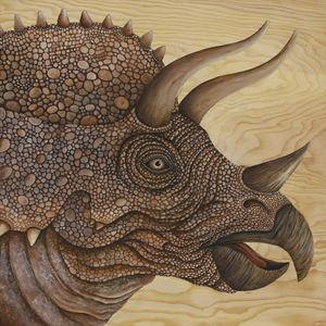 Triceratops - Skee Goedhart Fine Art