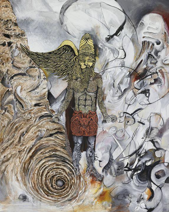 The Sage of Bavel - Skee Goedhart Fine Art