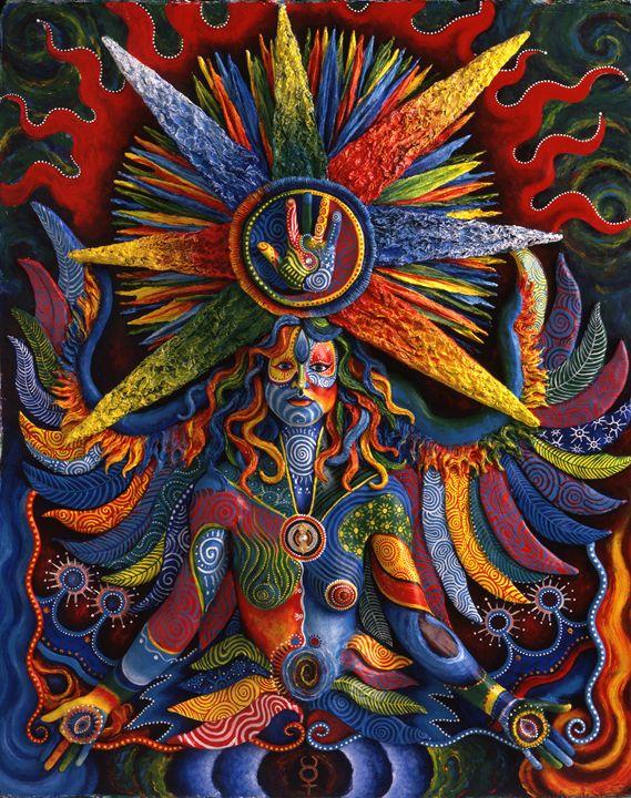 Mercury: Mystic Doodle - Skee Goedhart Fine Art