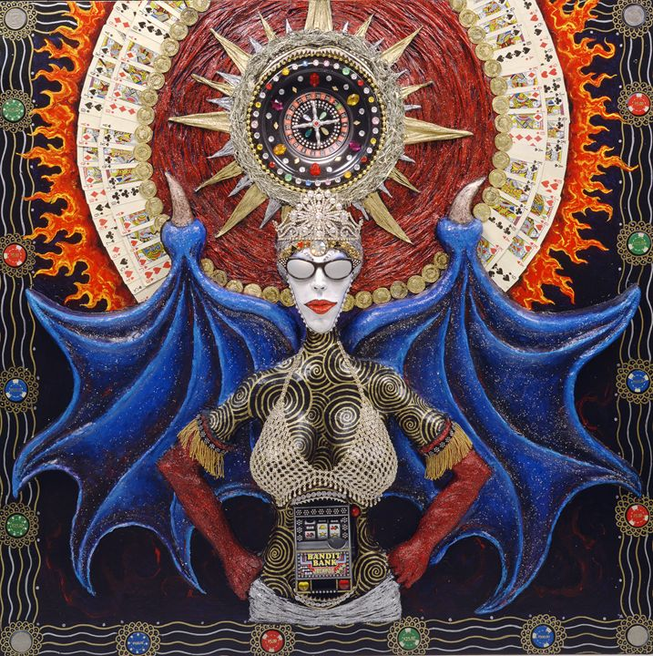 The Queen of the Deal - Skee Goedhart Fine Art