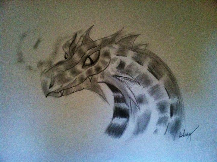 Dragon - Kira Presley's art
