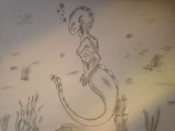 Mermaid - Kira Presley's art