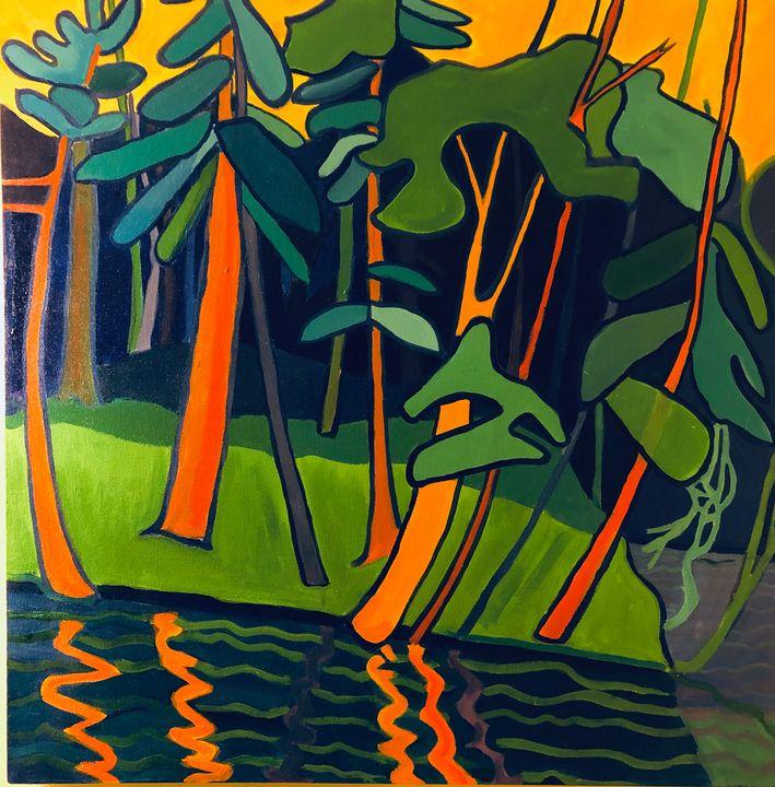 """""""River-woods, Groton, MA"""" - Debra Bretton Robinson"""