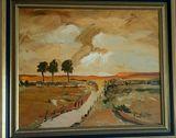 Original oil painting by Cornelius B