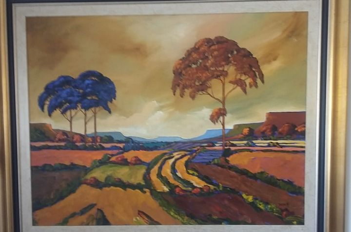 Cornelius Bosch landscape - Toytjie