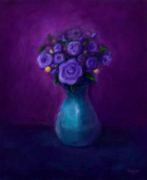 Purple Roses - Enrique J. Aguilar