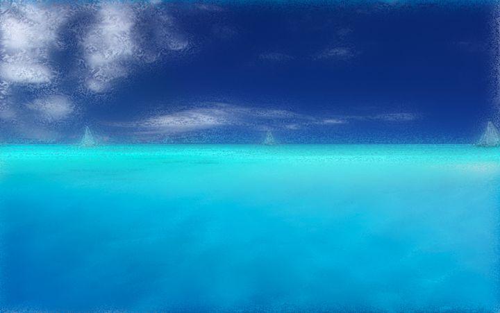 Caribbean Sail Oil - Blaine Chitwood