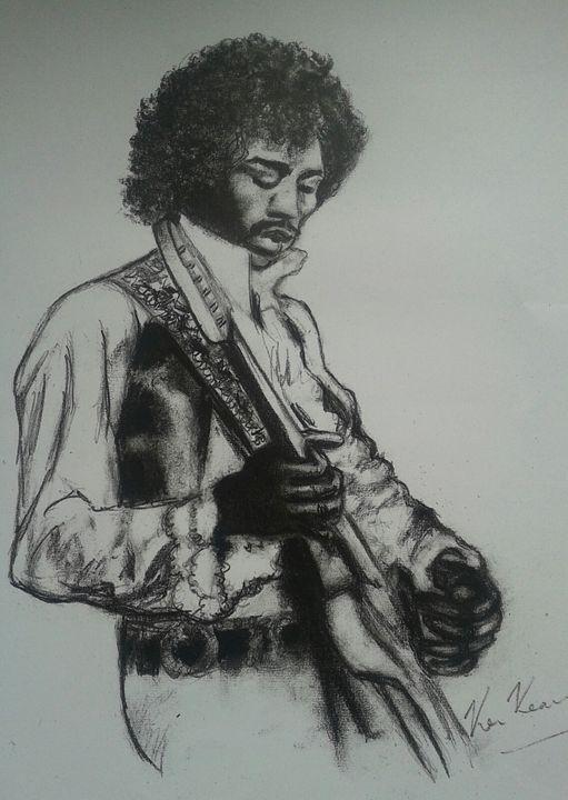 Hendrix - EASTWESTART.DOOLIN