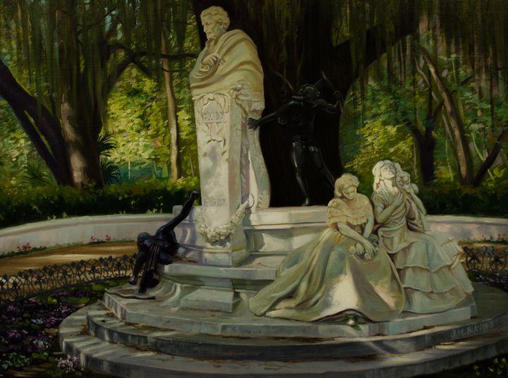 Monument to Becquer - Jose Miguel Blanco