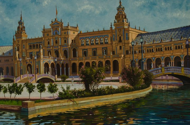 Plaza de Espana, Seville - Jose Miguel Blanco