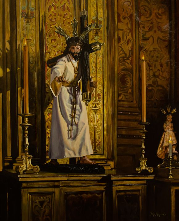 Christ of the Valley, Seville. - Jose Miguel Blanco