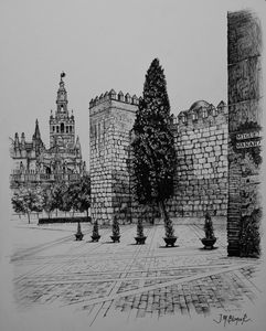 Giralda and Alcazar of Seville