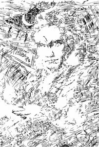 Beethoven's thought illustration