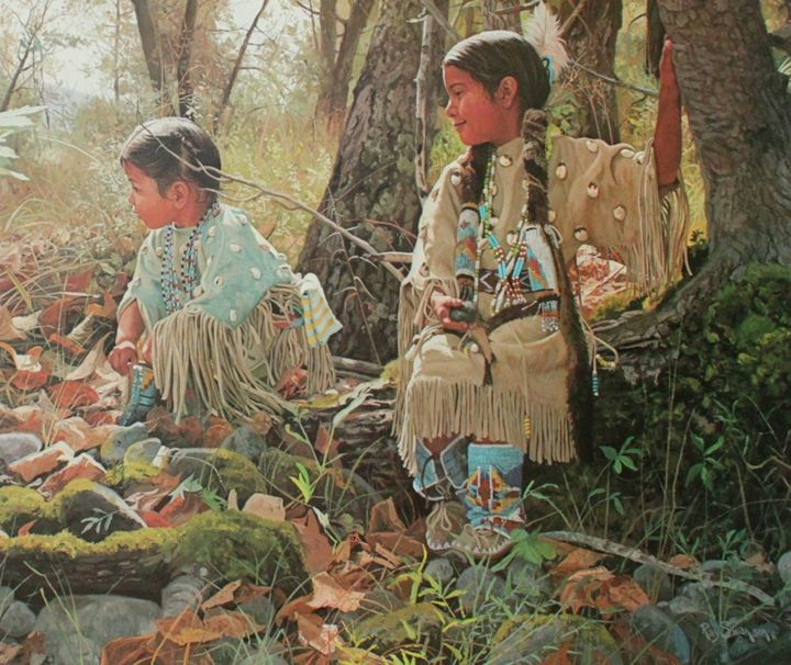Indian Summer Play by Ray Swanson - Truly Art Gallery