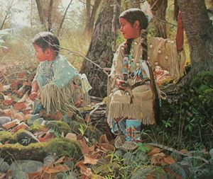 Indian Summer Play by Ray Swanson