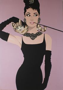 "Prop Art of ""Breakfast at Tiffany's"""