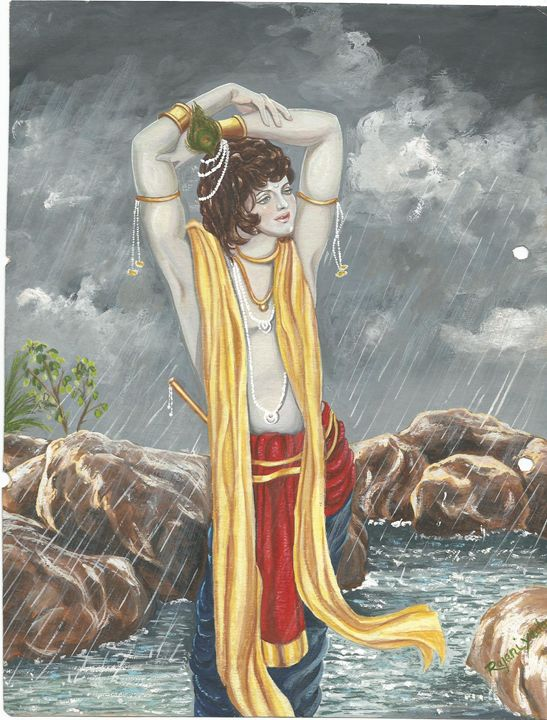 ETERNAL BLISS - rajni artwork