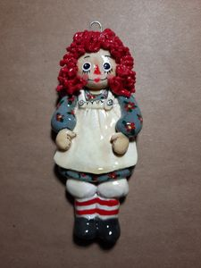Raggety Ann Doll Ornament