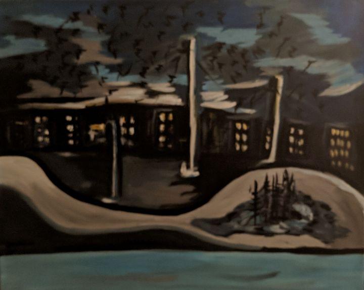 Crow Watching - McDaid Art