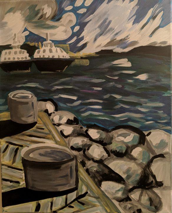 DartmouthWaterFront - McDaid Art