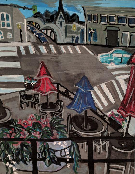 Down Town Galt - McDaid Art