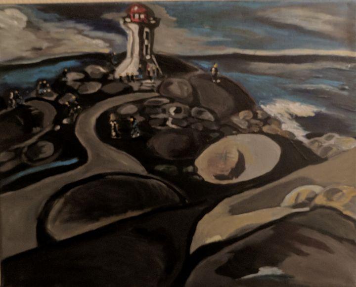 Peggy`s Cove - McDaid Art