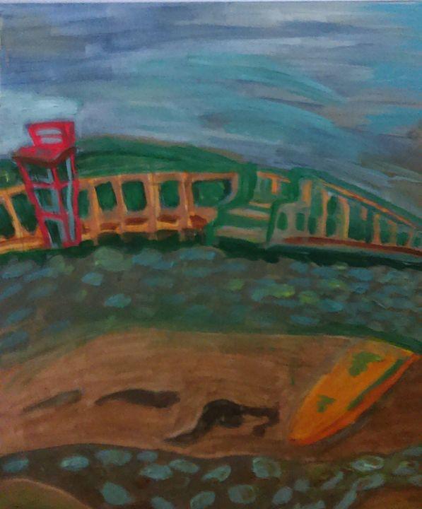 """""""Lawrerncetown Beach"""" - McDaid Art"""