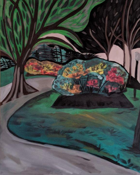Public Garden - McDaid Art