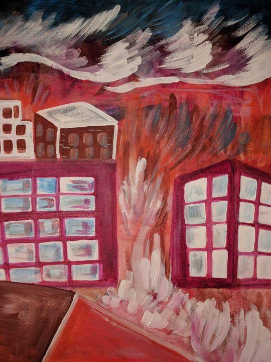Burning Down the House - McDaid Art