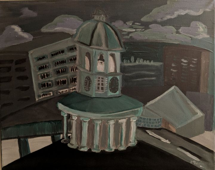 Clock Tower - McDaid Art
