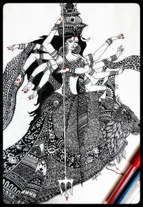 Maa Durga Mandala