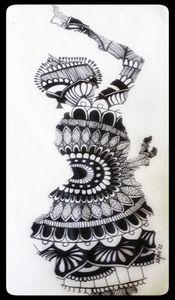 Dance Form Mandala Art