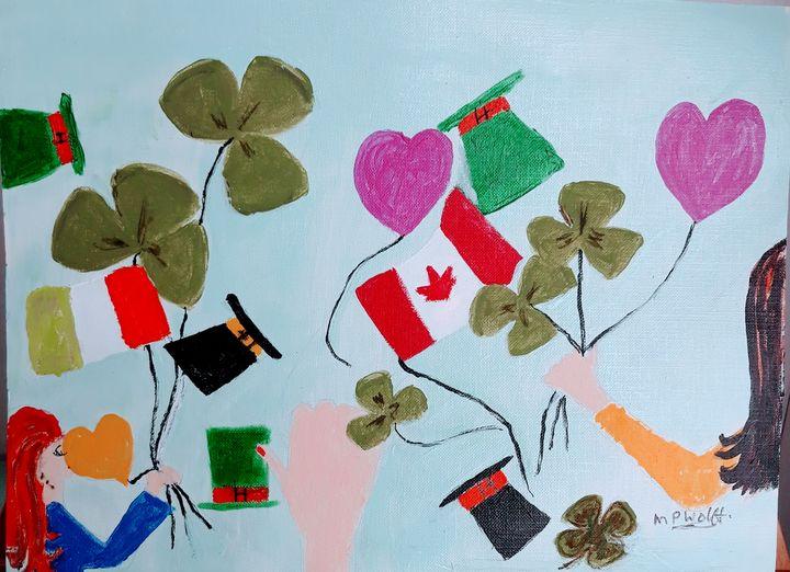 Happy St Patrick's Day - Artbypetrina