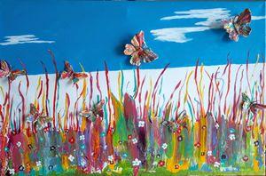 Butterfly fly - Artbypetrina