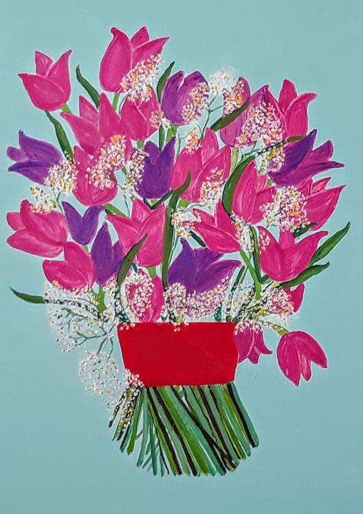 Tulips - Artbypetrina