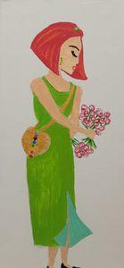 Chakra girl, I love. - Artbypetrina