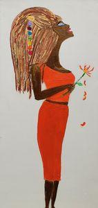 Chakra girl I feel - Artbypetrina