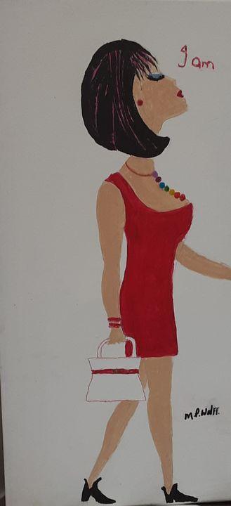 Chakra girl I am - Artbypetrina