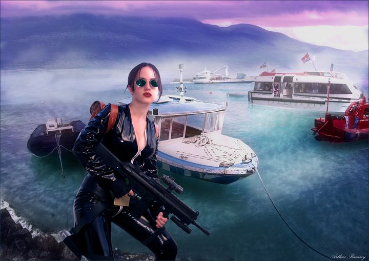 Tomb Raider SurvivorS - Art by Arthur Ramsey