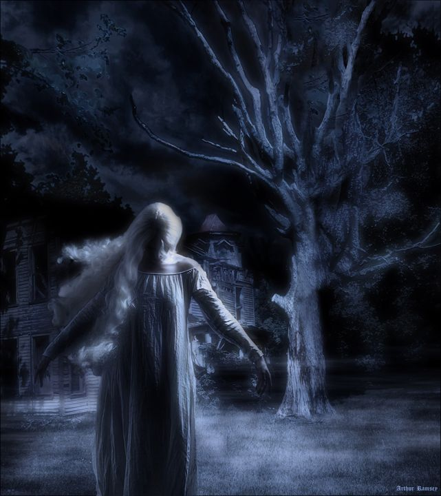 He Calls At Night - Art by Arthur Ramsey