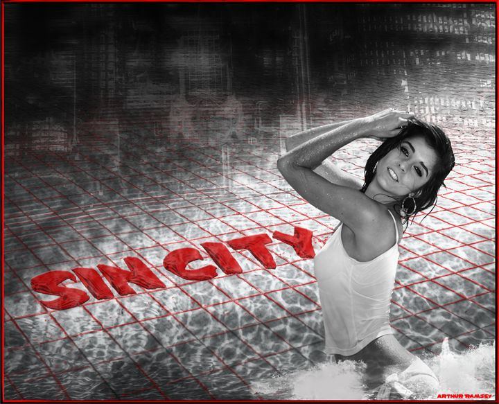 Sin City Exposure - Art by Arthur Ramsey