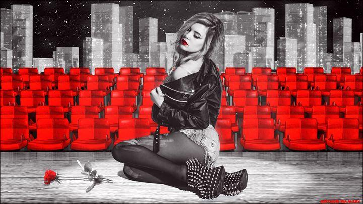 The Last Curtain Call Sin City - Art by Arthur Ramsey
