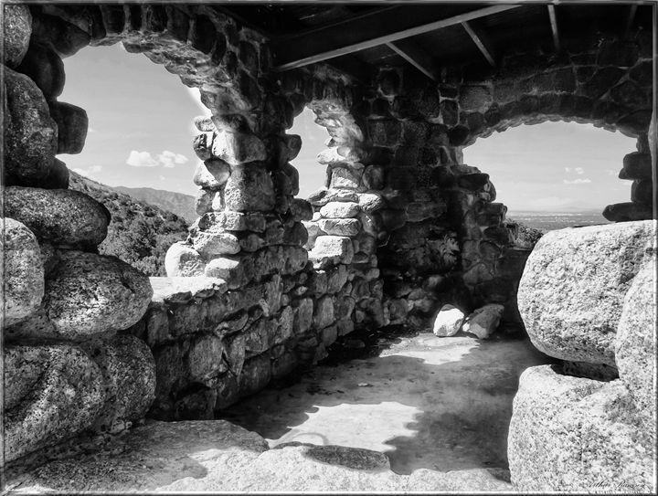 Rock House Albuquerque NM Sandia MT. - Art by Arthur Ramsey