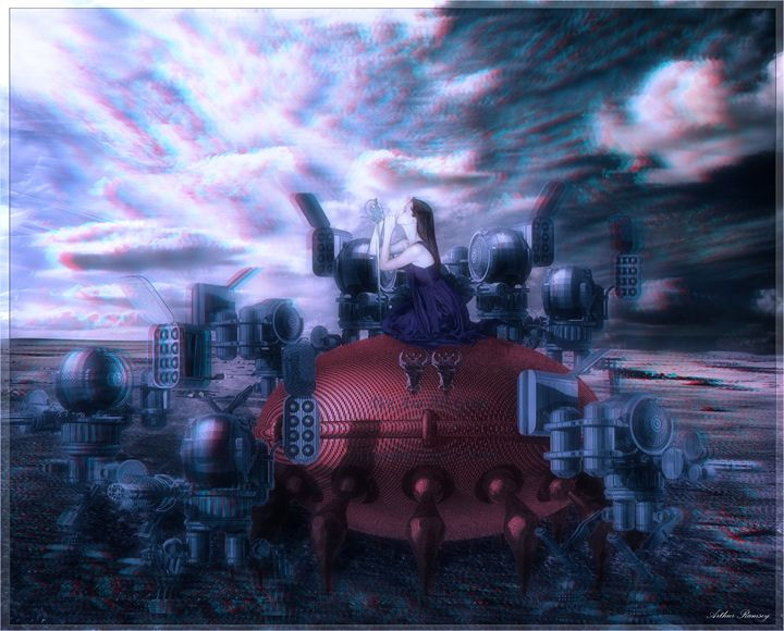 Reverb World - Art by Arthur Ramsey