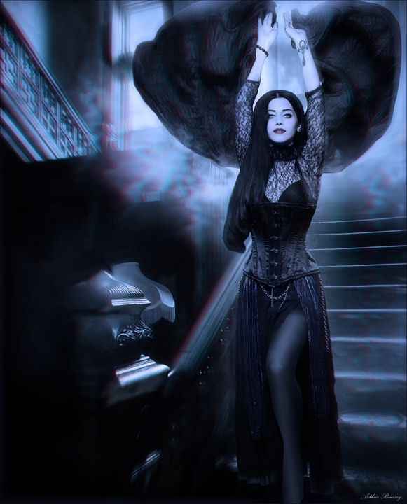 Countess Vampire - Art by Arthur Ramsey